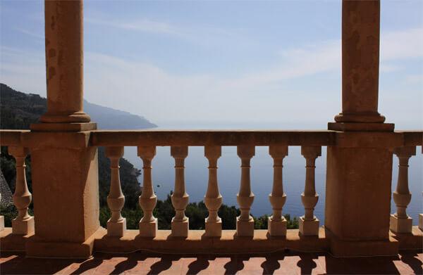Son Marroig auf Mallorca, Blick nach Westen