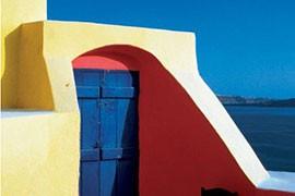 Haus im mediterranen Stil