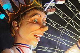 der König im Karneval von Nizza