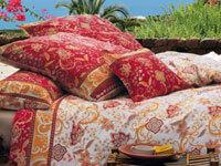 bassetti satin bettwaesche amb mediterran. Black Bedroom Furniture Sets. Home Design Ideas
