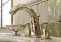 Nostalgischer Wasserhahn