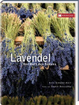 Buch über Lavendel, der Duft des Südens
