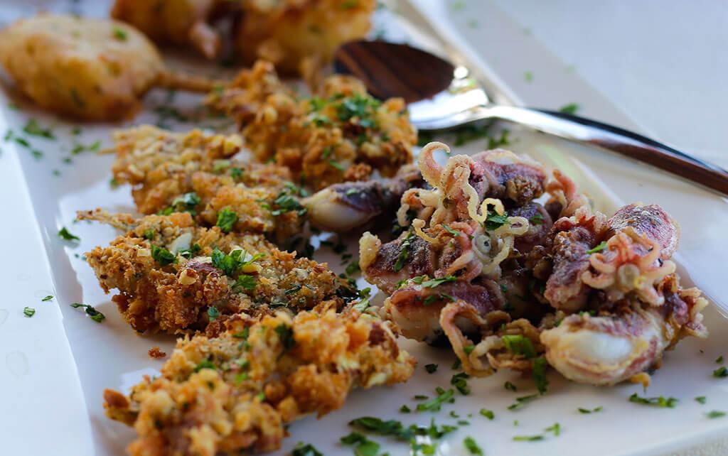 Frittierte Meeresfrüchte © Siegbert Mattheis