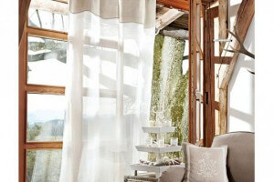 Mediterrane Vorhänge und Gardinen, große Auswahl im Shop