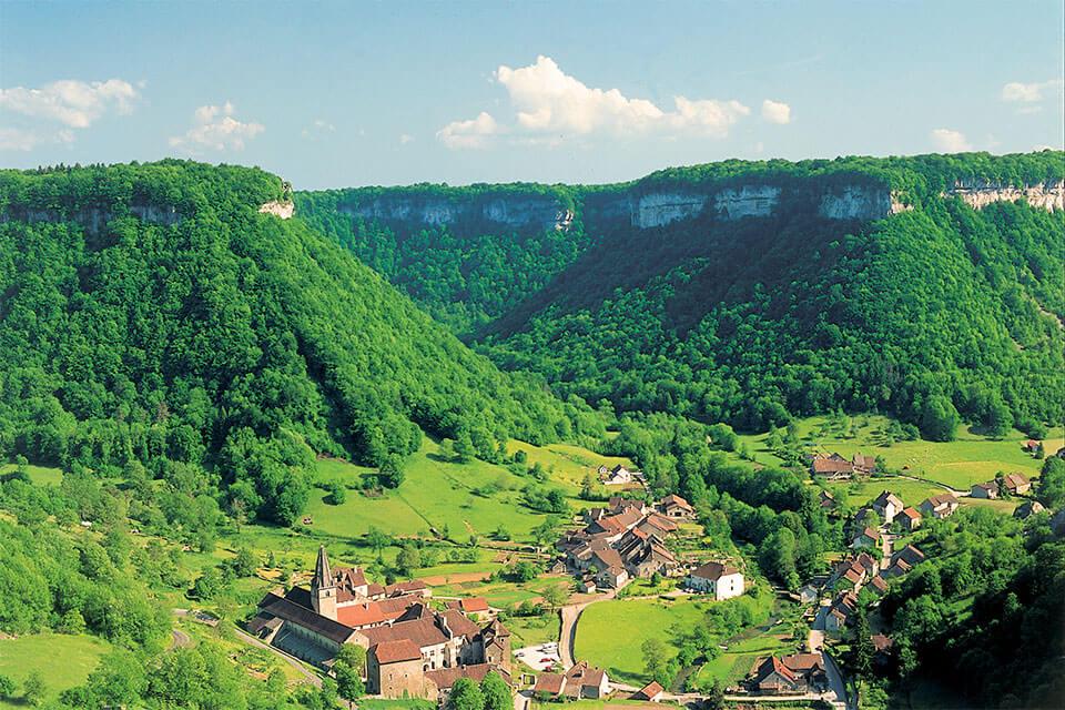 Baume les Messieurs in der Franche-Comté