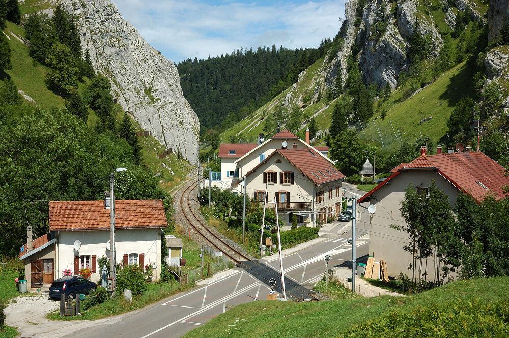 bahnstrecke durch Pontarlier
