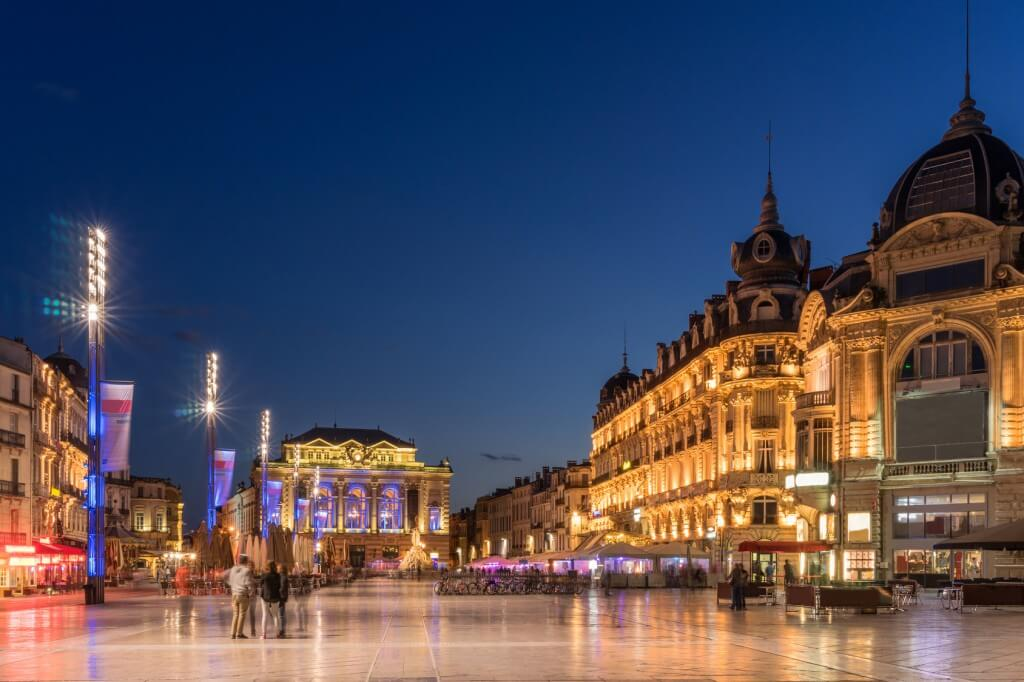 Place de Comedie in Montpellier @ fotolia.com, gb27photo