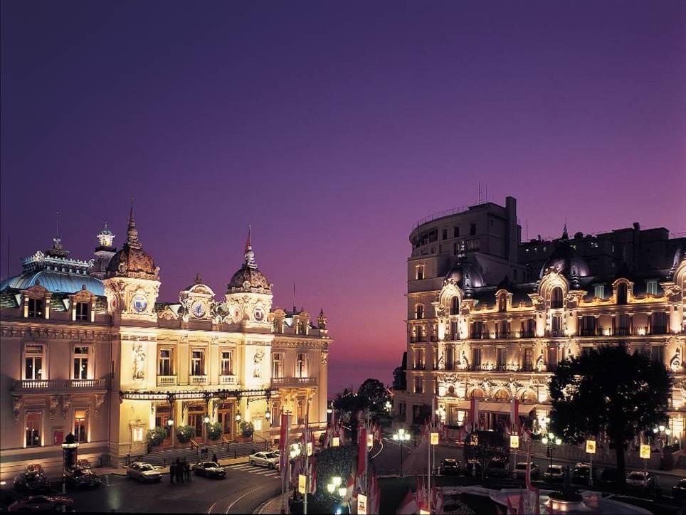 Casino bei Nacht © Centre de Presse de Monaco