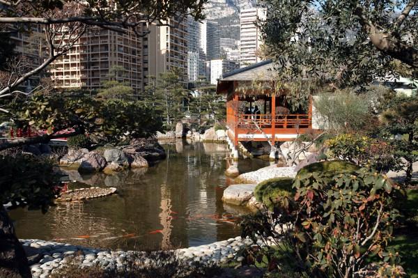 Der Japanische Garten © Centre de Presse de Monaco