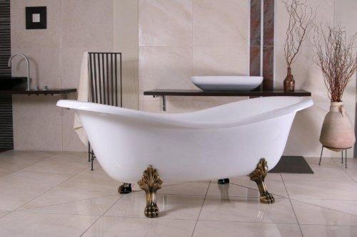 Freistehende Luxus-Badewanne im Jugendstil © Casa Padrino