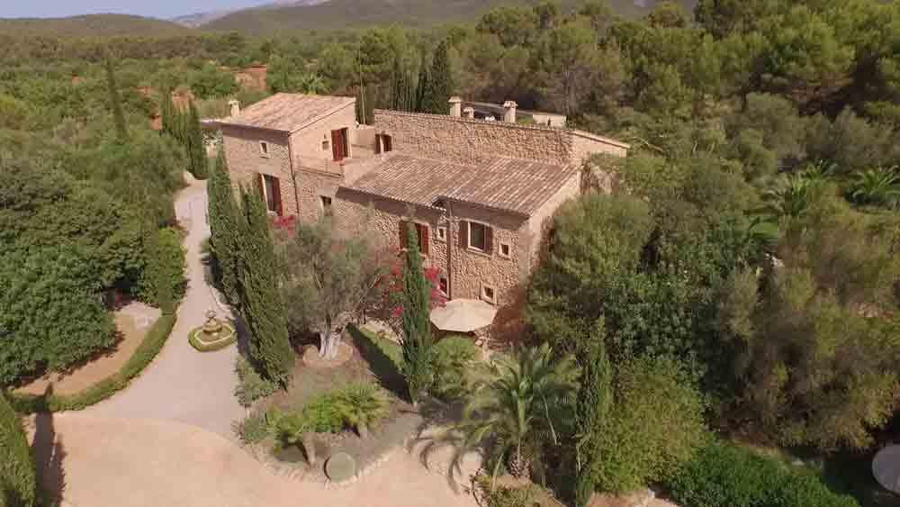 traditionelle Finca im Landhausstil Santa Maria auf Mallorca