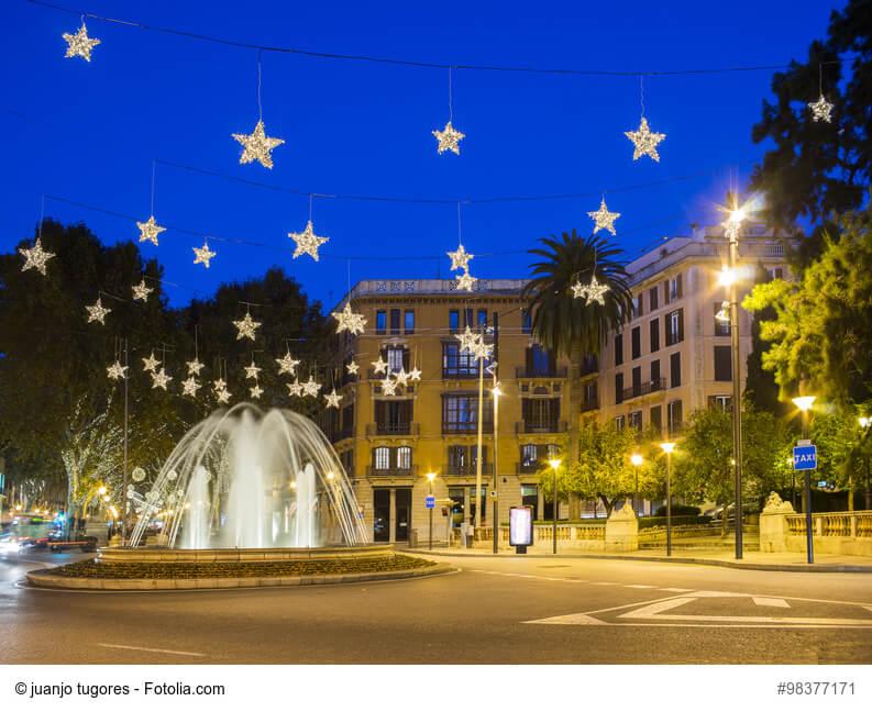Plaza de la Reina in Mallorca