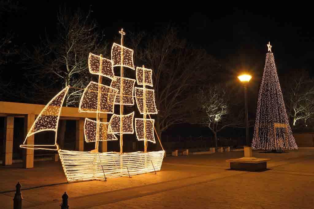 Weihnachten-Schiff-griechenland