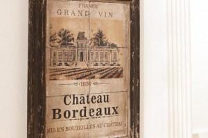 Bild Chateau Bordeaux Dunkelbraun-Beige