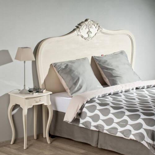 bettkopfteil alexandrine 198cm ambiente mediterran. Black Bedroom Furniture Sets. Home Design Ideas