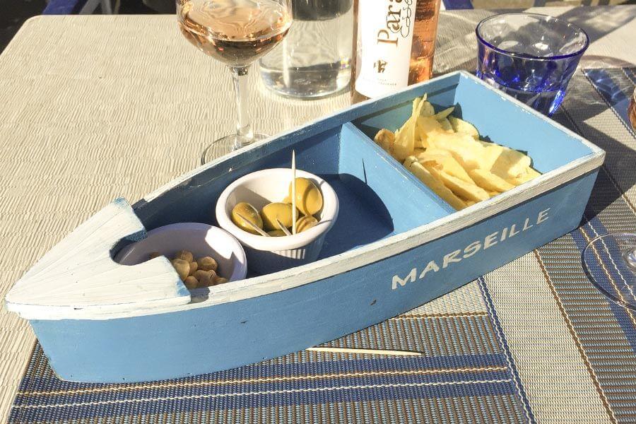 Snacks im Le Petit Cabanon © Siegbert Mattheis
