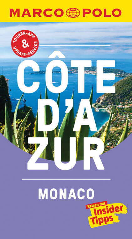 Reiseführer Côte d'Azur Monaco Cover Marco Polo