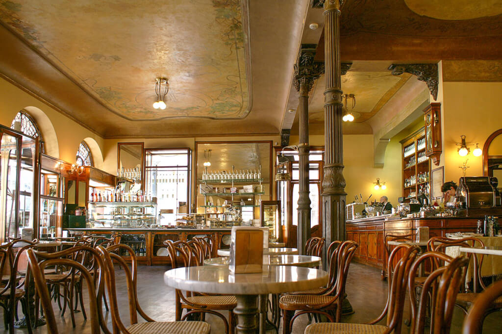 Caffe Meletti in Ascoli Piceno © Siegbert Mattheis