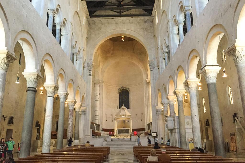 Die Kathedrale von San Sabino in Bari © Siegbert Mattheis