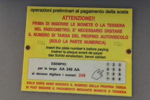 Parkuhren in Italien © Siegbert mattheis