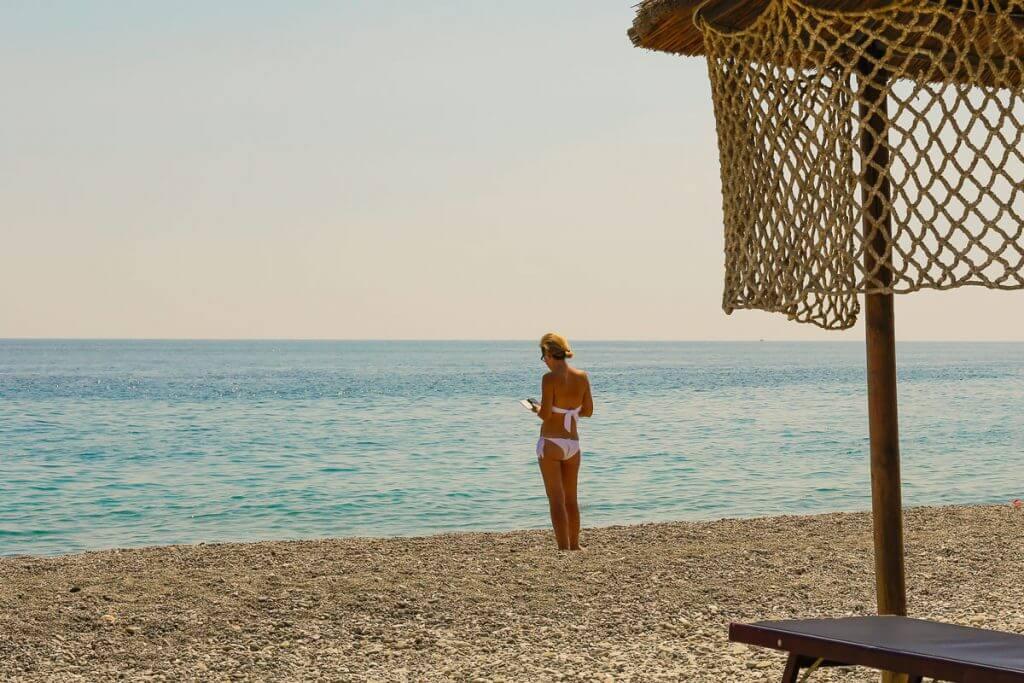 Die Strände in Apulien sind noch nicht überlaufen © Siegbert Mattheis