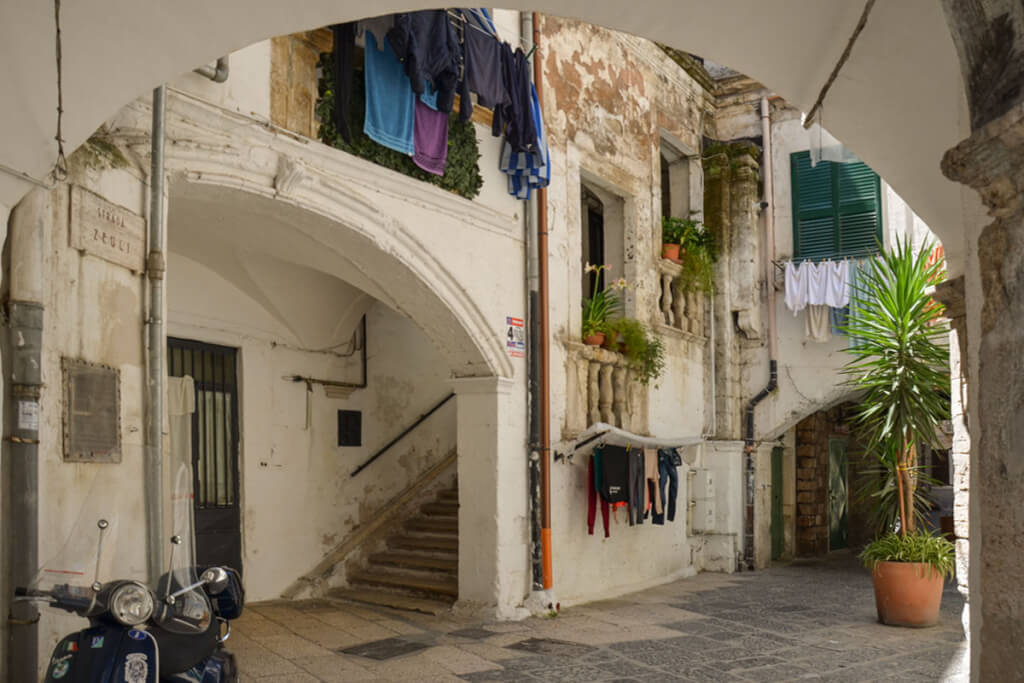 Mittelalterlicher Hinterhof in Bari Vecchia © Siegbert Mattheis