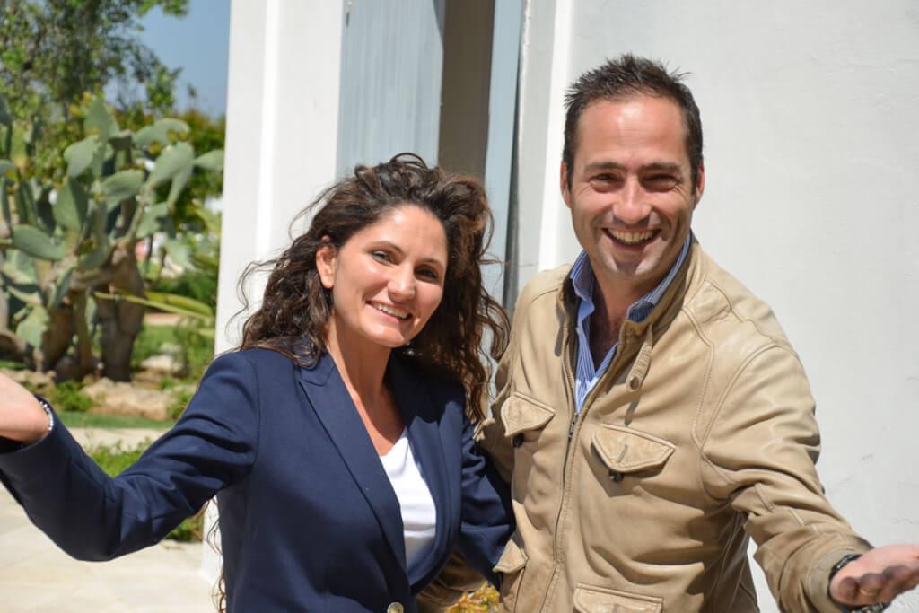 Marilisa und Giacomo heißen Gäste herzlich im Don Luigi willkommen © Siegbert Mattheis