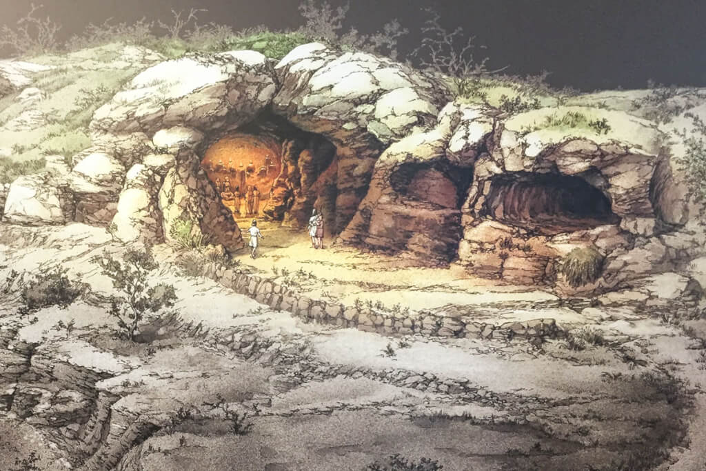 Egnazia: Die frühesten Ansiedelungen aus der Bronzezeit © Siegbert Mattheis