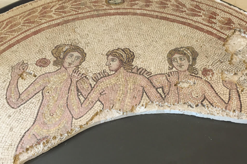Die drei Grazien aus Gnatia (Egnazia) © Siegbert Mattheis