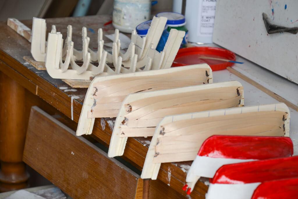 Gozzo-Bootsbau wie im Original © Siegbert Mattheis