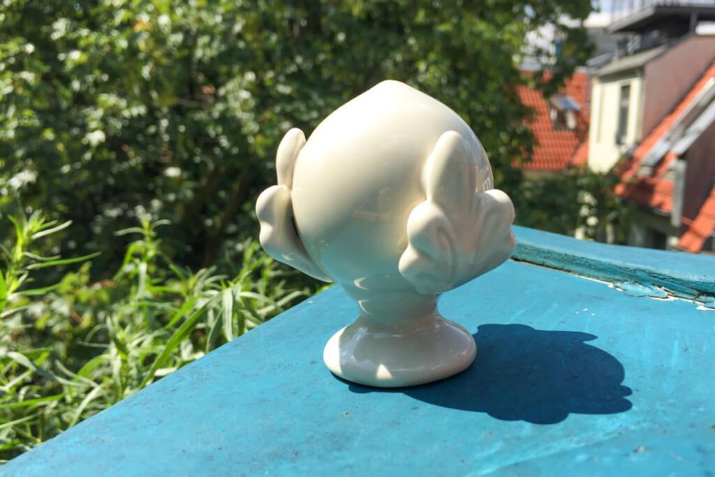 Unser Pumo auf der Terrasse © Siegbert Mattheis