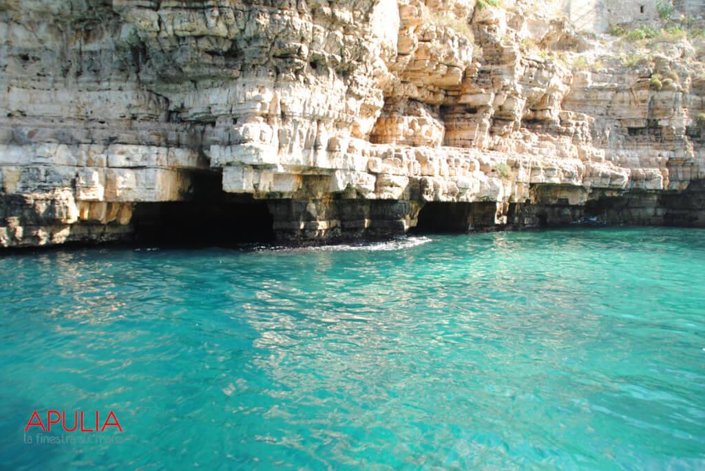 Grotten in Polignano © La finestra sul mare