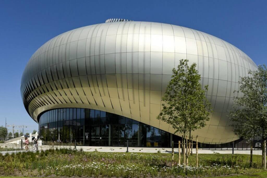 Biomorphes Design der Cité du vin @ Cité du vin / XTU architects