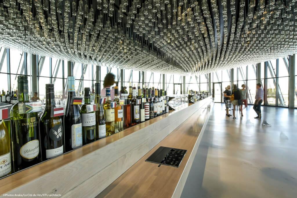 Die Panoramaetage im 8. Stock @ Cité du vin