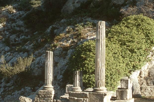 Archaeologische Fundstaette von Glanum-05
