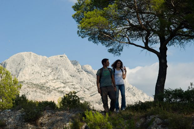 Wandern im Montagne Sainte-Victoire © Regis Cintas Flores