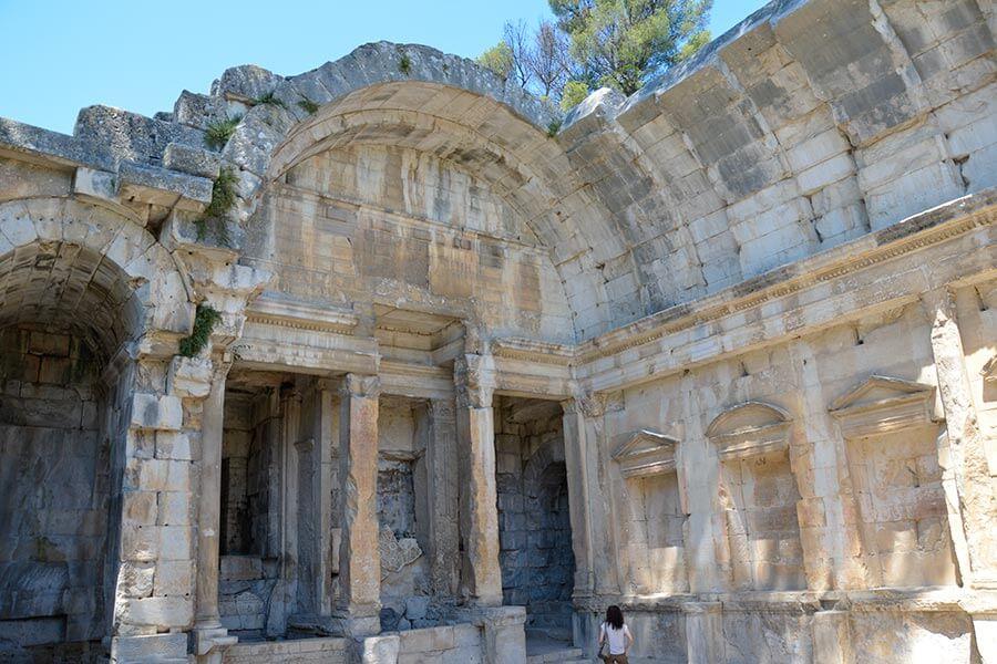 Tempel der Diana in Nimes © Siegbert Mattheis