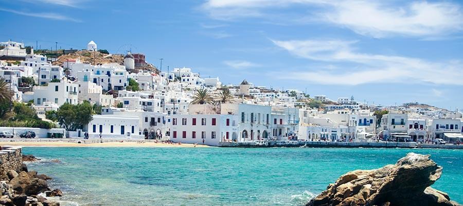 Mediterrane Farben in Griechenland