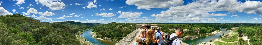Panorama Pont du Gard © Claudia Mattheis
