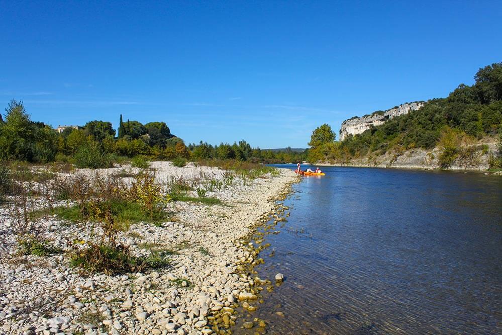 Paddeln zum Pont du Gard © Siegbert Mattheis
