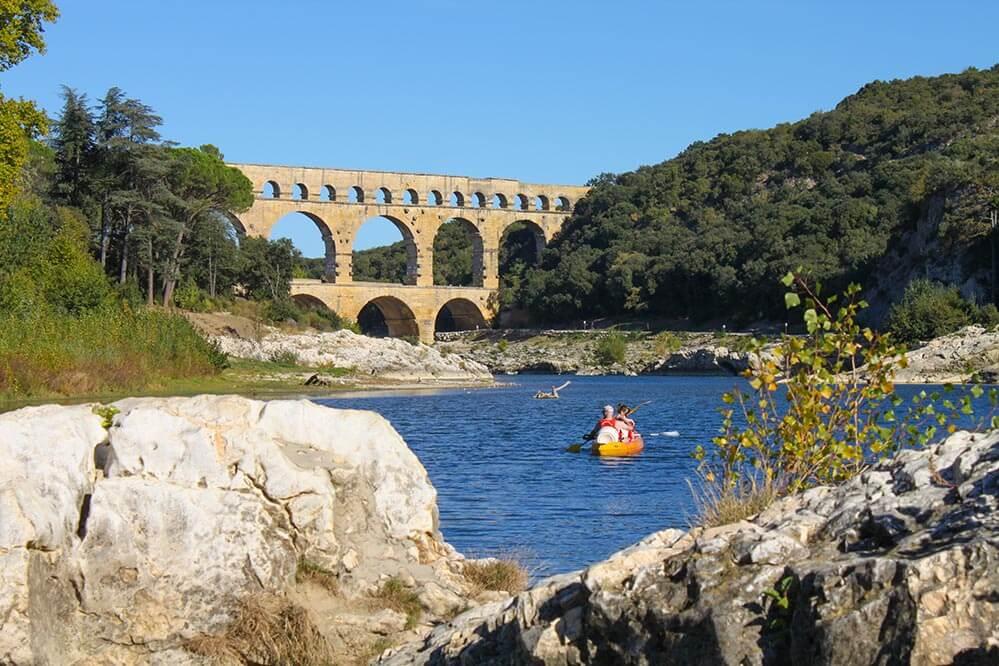 Pont du Gard Paddeln © Siegbert Mattheis