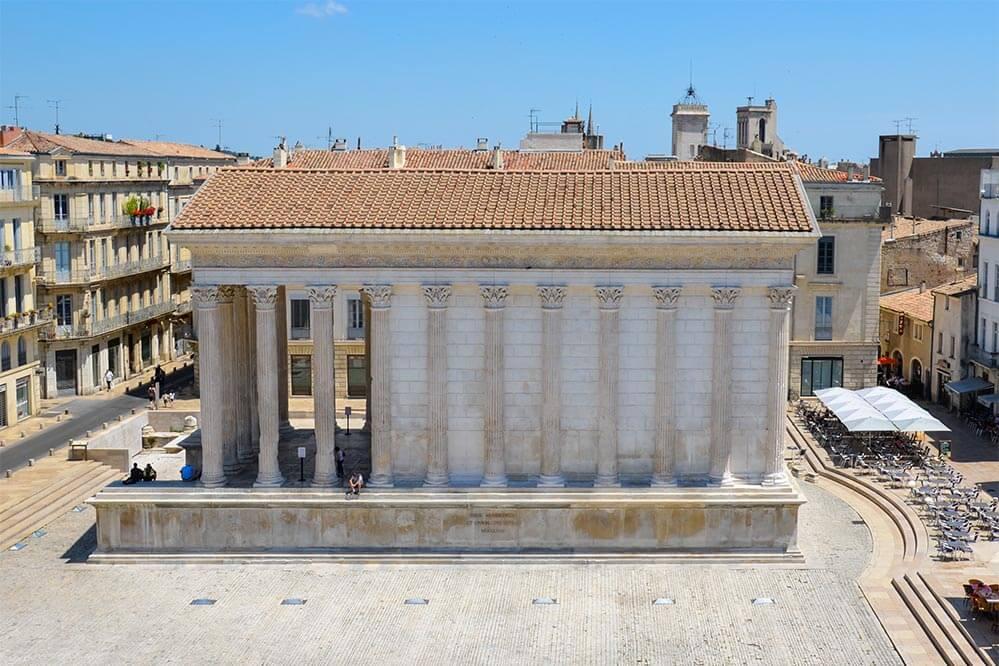 Römischer Tempel in Nimes © Siegbert Mattheis