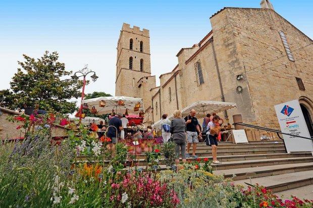 Argelès-sur-Mer Markt Dorf
