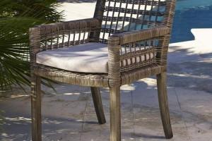 Mediterrane gartenm bel deko sitzgruppen mosaiktische for Brauner stuhl