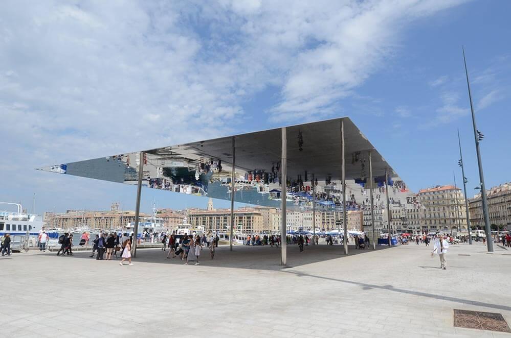 Marseille Ombrière © Vdm, OTCM