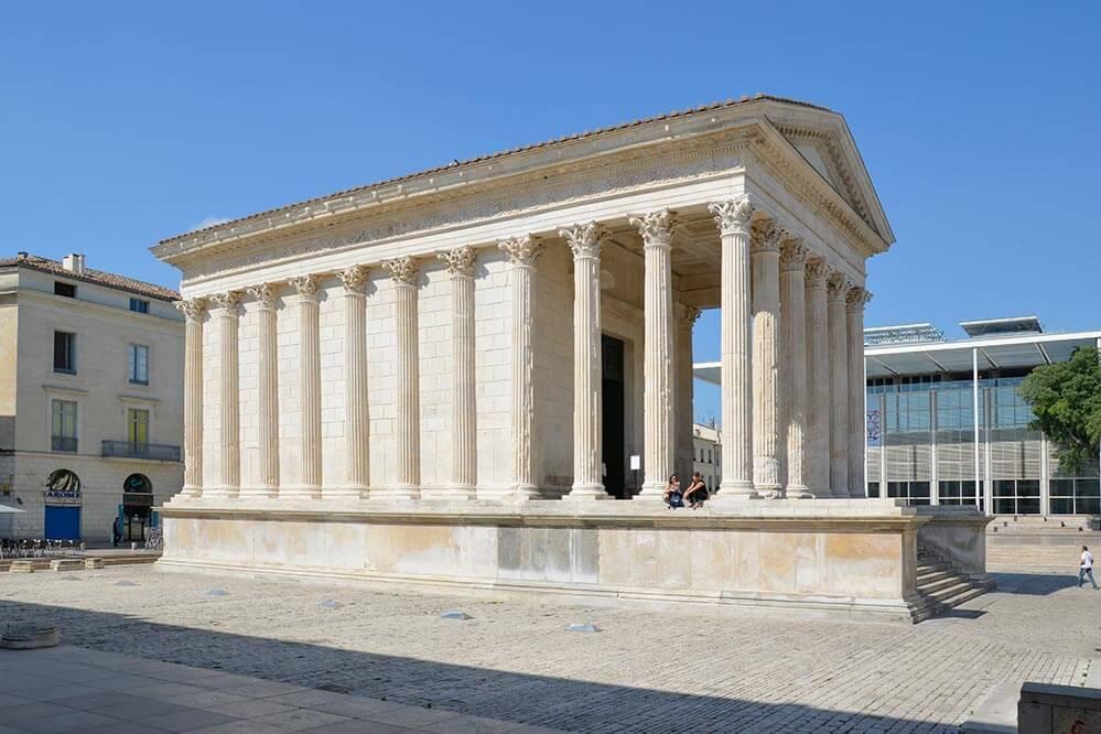 Nimes Tempel Maison Carrée © Siegbert Mattheis