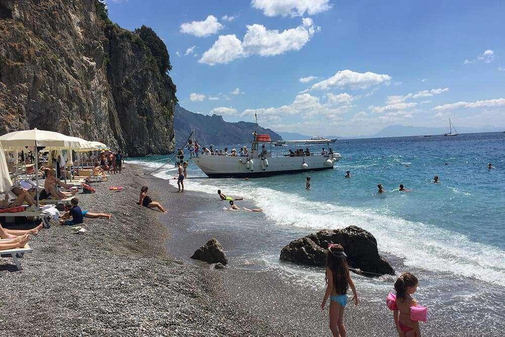 Strandboote Amalfiküste © Siegbert Mattheis