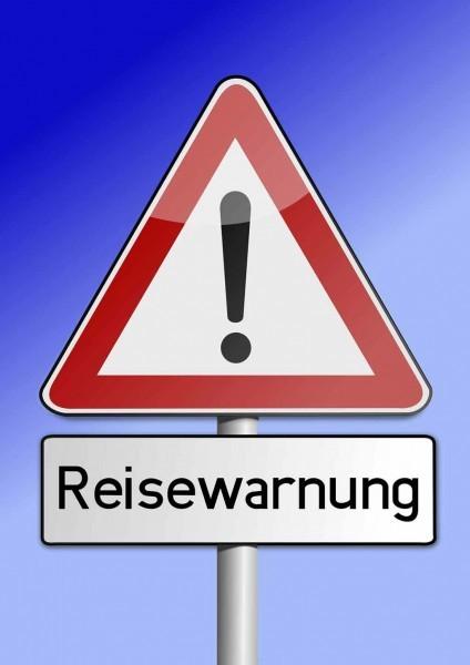 Reisewarnung kann Grund für Reiserücktritt