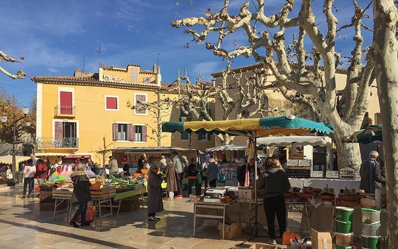 Der Wochenmarkt in Cassis auf dem Place Baragnon © Siegbert Mattheis