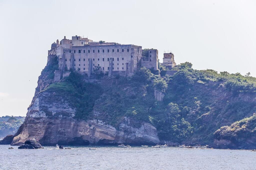 """Festung """"Terra Murata"""" vom Meer aus gesehen © Siegbert Mattheis"""